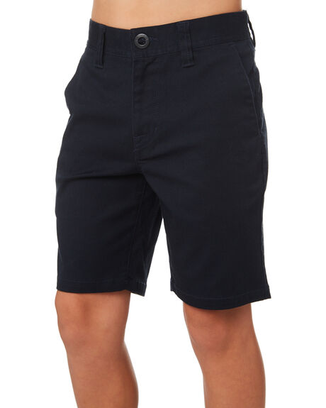 DARK NAVY KIDS BOYS VOLCOM SHORTS - C0931602DNV