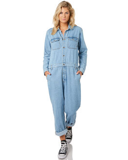 LIGHT RETRO WOMENS CLOTHING DR DENIM PLAYSUITS + OVERALLS - 1931106G81LRET