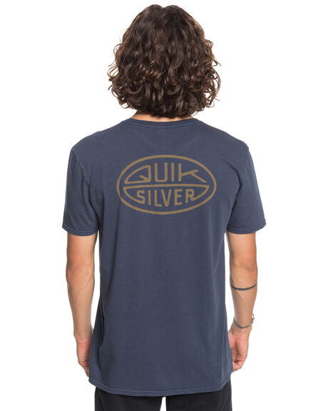 PARISIAN NIGHT MENS CLOTHING QUIKSILVER TEES - EQYZT06106-BYP0