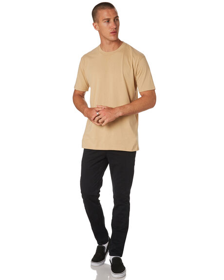 TAN MENS CLOTHING AS COLOUR TEES - 5026TAN
