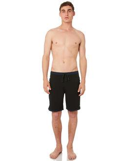BRIGHT BLACK MENS CLOTHING OUTERKNOWN BOARDSHORTS - 1810029BBK