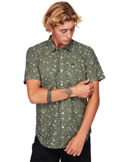 MILITARY MENS CLOTHING RVCA SHIRTS - RV-R192183-MIL