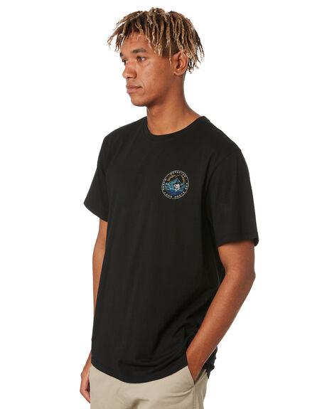 BLACK MENS CLOTHING DEPACTUS TEES - D5211004BLACK