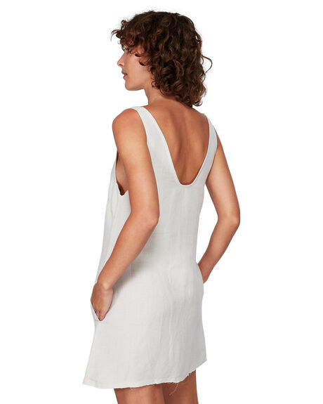 LINEN WOMENS CLOTHING RVCA DRESSES - RV-R291760-L10