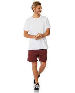 BURGUNDY MENS CLOTHING DEPACTUS BOARDSHORTS - D5183234BURGY