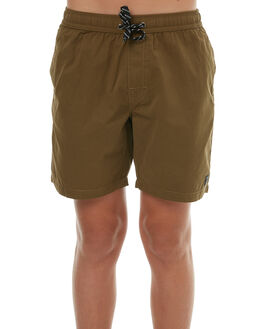 WASHED MILITARY KIDS BOYS SWELL BOARDSHORTS - S3164231WSHML