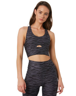 TITANIUM ZEBRA WOMENS CLOTHING LORNA JANE ACTIVEWEAR - 111902TIT