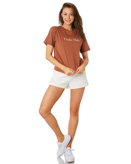 TURMERIC WOMENS CLOTHING COOLS CLUB TEES - 104-CW4TURM