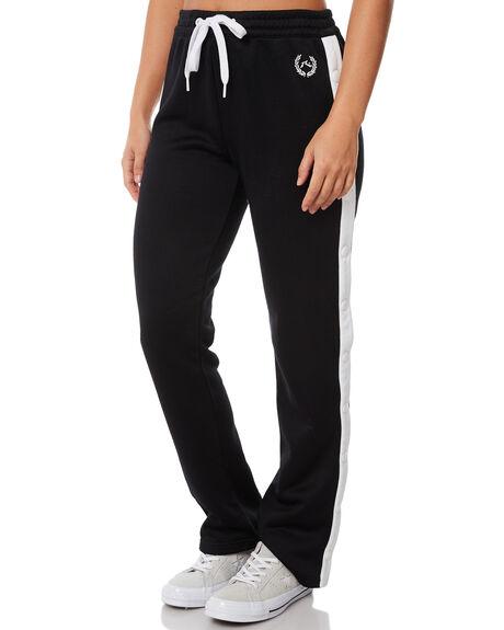 BLACK WOMENS CLOTHING RUSTY PANTS - PAL1051BLK