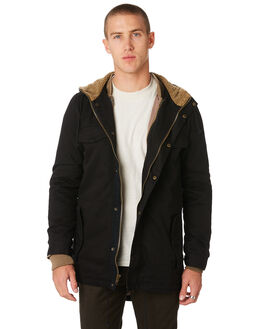 BLACK MENS CLOTHING THE CRITICAL SLIDE SOCIETY JACKETS - JK1808BLK