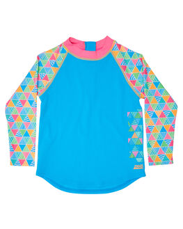 TURQUOISE MULTI BOARDSPORTS SURF ZOGGS TODDLER GIRLS - 7049183TURML