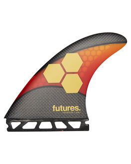 ORANGE RED BOARDSPORTS SURF FUTURE FINS FINS - 5560-429-50ORGRD