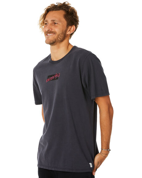 ANTHRACITE MENS CLOTHING HURLEY TEES - AO8802060
