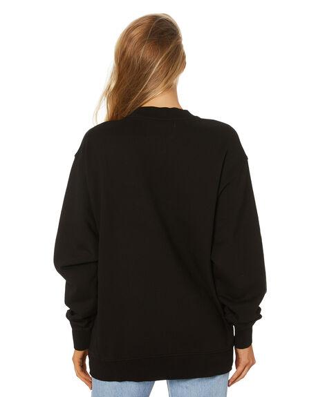 CK BLACK WOMENS CLOTHING CALVIN KLEIN HOODIES + SWEATS - J20J215568BEH