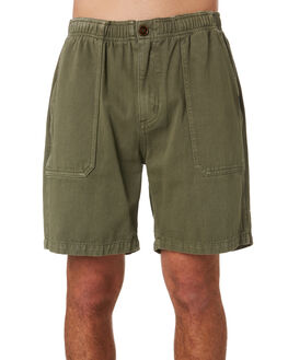 ARMY GREEN OUTLET MENS THRILLS SHORTS - TS9-300FARMY