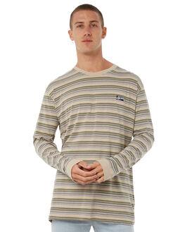 SAND MENS CLOTHING STUSSY TEES - ST085102SAND