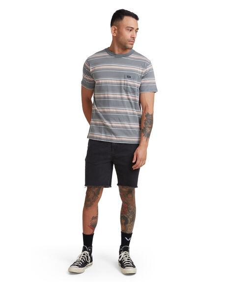 BALSAM GREEN MENS CLOTHING RVCA TEES - RV-R317044-8BG