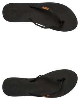 BLACK BLACK WOMENS FOOTWEAR REEF THONGS - 1605BK2