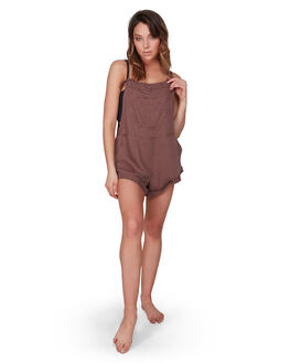 NUTMEG WOMENS CLOTHING BILLABONG PLAYSUITS + OVERALLS - BB-6572501-N53