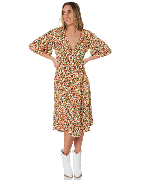 MULTI WOMENS CLOTHING MINKPINK DRESSES - MP1910468MULTI