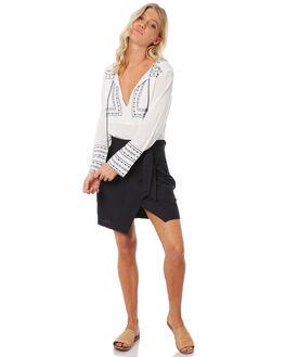 WHITE WOMENS CLOTHING ELWOOD FASHION TOPS - W83307-653