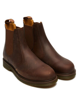 GAUCHO CRAZY HORSE MENS FOOTWEAR DR. MARTENS BOOTS - SS11853201GAUM