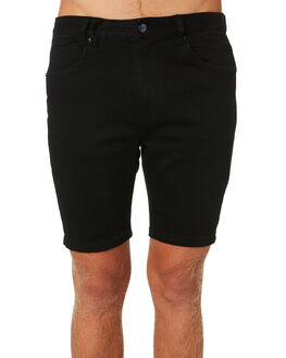 PURE JET BLACK MENS CLOTHING INSIGHT SHORTS - 5000003265PJETB