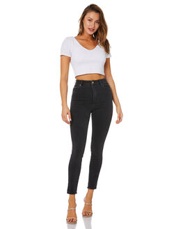 GRAPHITE WOMENS CLOTHING A.BRAND JEANS - 71137814