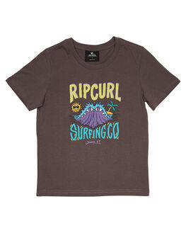 DARK GREY KIDS BOYS RIP CURL TOPS - OTEWB21221
