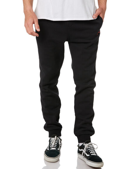 BLACK RED MENS CLOTHING RUSTY PANTS - PAM0852BLKR