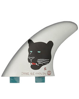 SILVER BOARDSPORTS SURF CAPTAIN FIN CO. FINS - CFF3111607SLVR
