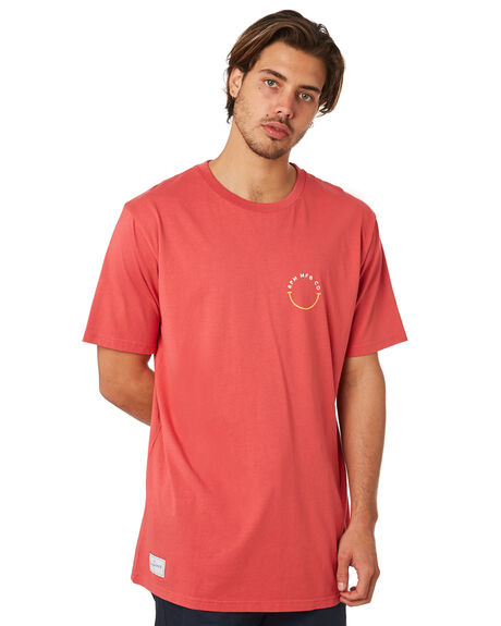 RED OUTLET MENS RPM TEES - 8SMT05BRED