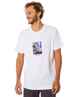 WHITE MENS CLOTHING RIP CURL TEES - CTESK21000