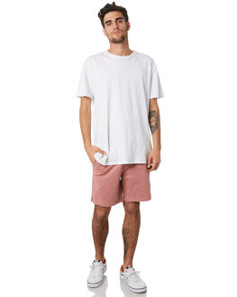 DUSTY PINK MENS CLOTHING ACADEMY BRAND SHORTS - 20S602DPNK