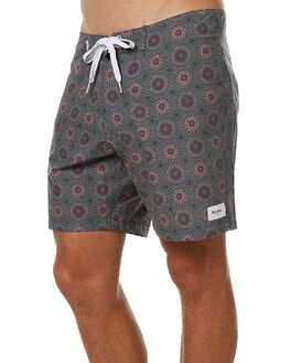 TEAL MENS CLOTHING RHYTHM BOARDSHORTS - APR17-TR02TEA