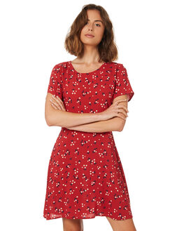 DARLING DITSY PRINT WOMENS CLOTHING ALL ABOUT EVE DRESSES - 6426040PRNT