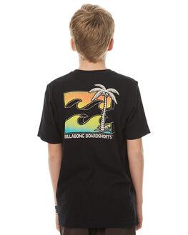 BLACK KIDS BOYS BILLABONG TEES - 8571019BLK