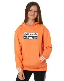 SEMI CORAL KIDS GIRLS ADIDAS JUMPERS + JACKETS - ED7883CRL