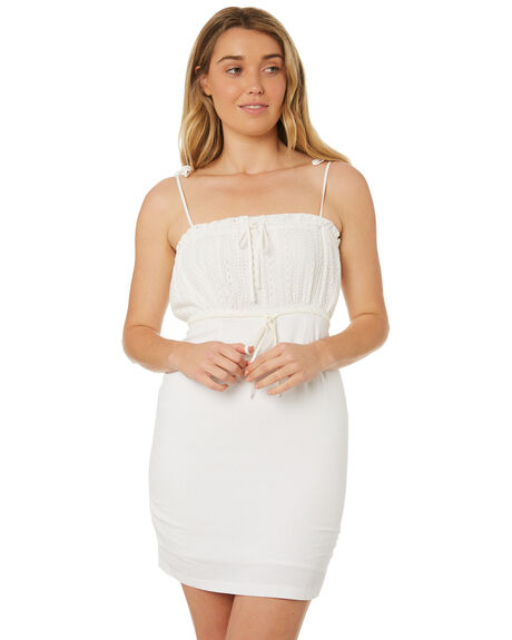 WHITE OUTLET WOMENS MINKPINK DRESSES - MP1804551WHT