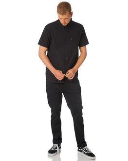 BLACK MENS CLOTHING RIP CURL SHIRTS - CSHKK10090