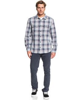 SLEET MITTA TANG MENS CLOTHING QUIKSILVER SHIRTS - EQYWT03851-SZP1