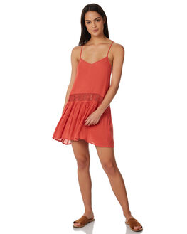RED WOMENS CLOTHING RIP CURL DRESSES - GOVBL10040