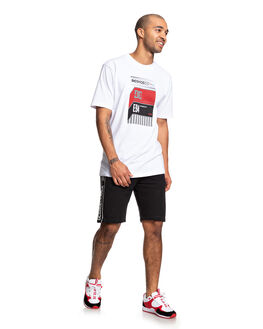 BLACK MENS CLOTHING DC SHOES SHORTS - EDYFB03072-KVJ0