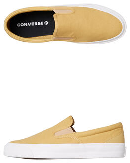 CLUB GOLD WOMENS FOOTWEAR CONVERSE SNEAKERS - SS163371CGOLDW