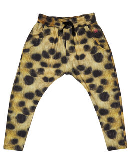 LEOPARD PRINT KIDS GIRLS MUNSTER KIDS PANTS - MM182PA01LEO