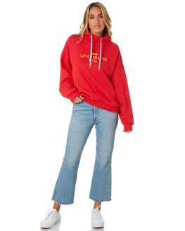 BRILLIANT RED WOMENS CLOTHING LEVI'S JUMPERS - 77372-00000000