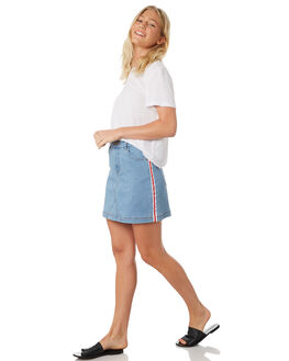 DENIM WOMENS CLOTHING SILENT THEORY SKIRTS - 6093115DEN