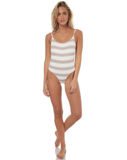 WHITE WOMENS SWIMWEAR BILLABONG ONE PIECES - 6572578WHT