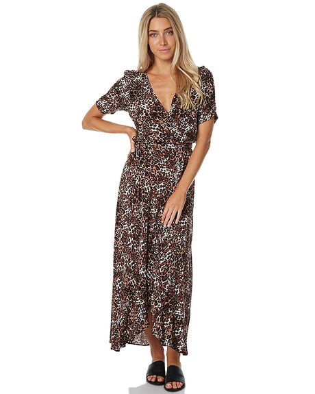 WILD CAT WOMENS CLOTHING AUGUSTE DRESSES - AUG-HN2-17158-WC