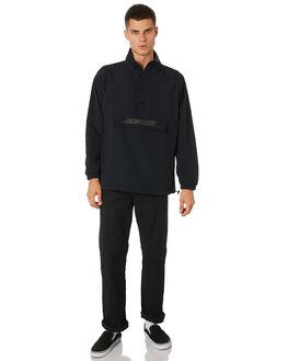 BLACK MENS CLOTHING SANTA CRUZ JACKETS - SC-MJA9125BLK